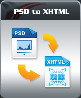 WEO PSD to XHTML